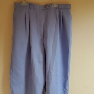 Talbots light blue dress pants.